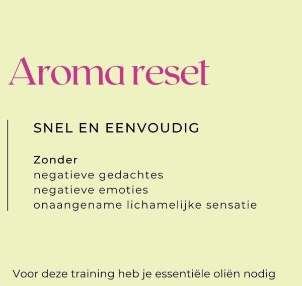 aroma reset